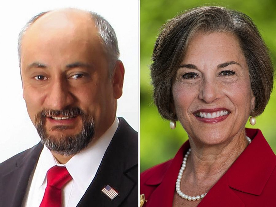 Republican Sargis Sangari is challenging Democratic Rep. Jan Schakowsky in the 9th Congressional District.