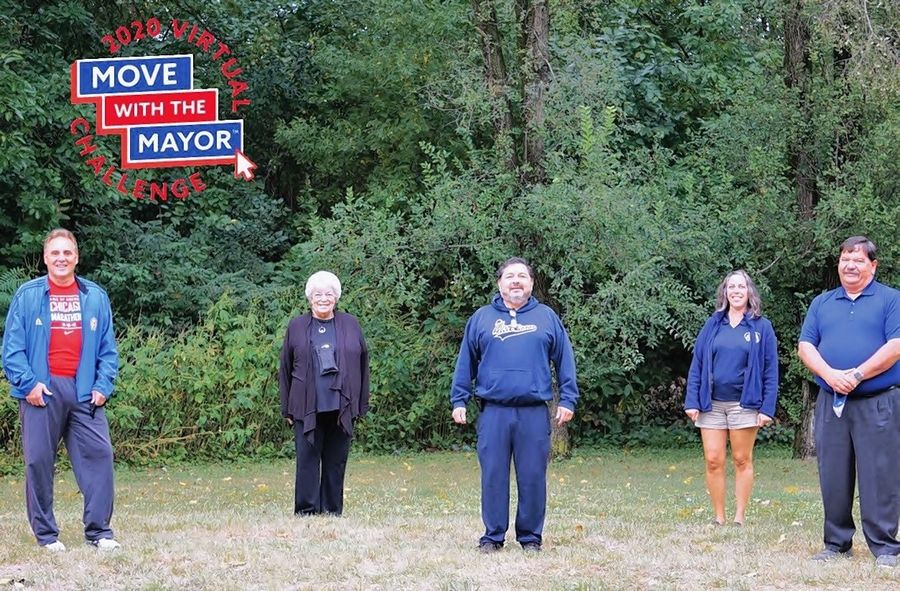 The mayors of Bartlett, Glen Ellyn, Glendale Heights, Hanover Park and West Chicago are inviting their residents to join them in a DuPage County chapter of the Move With The Mayor walking challenge in September.