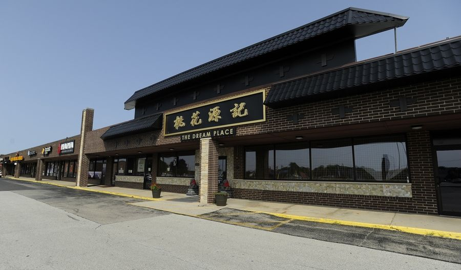 The Dream Place, a Chinese restaurant at 1280 E. Dundee Road in Palatine, was fined $2,000 and had its license suspended for at least two weeks after three male workers were found living in the basement.