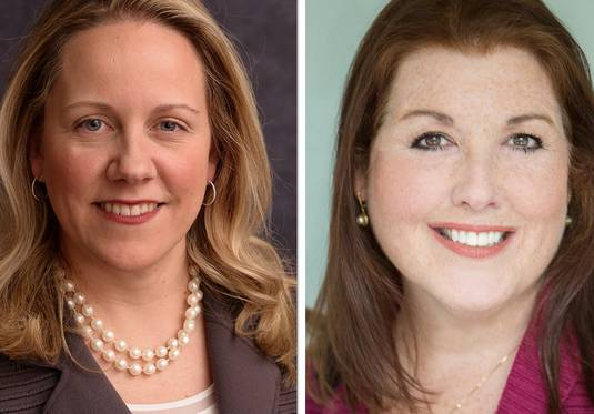 Republican incumbent Deanne Mazzochi, left, and Democrat Jennifer Zordani are vying to represent the 47th state House District.