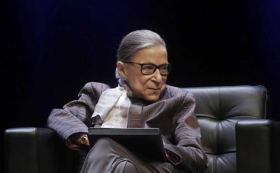 Supreme Court Justice Ruth Bader Ginsburg, a diminutive yet towering women's rights champion who became the court's second female justice, died Friday at her home in Washington. She was 87.