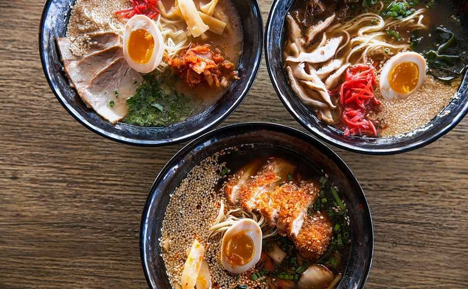 Six types of ramen are on the Lettuce Entertain You Restaurant Week menu at Tokio Pub Sept. 28-Oct. 4.