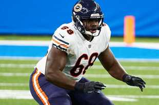 Offensive line was a problem for the Bears last fall. So far this year, it's been a pleasant surprise and the improvement of guard James Daniels is one reason.