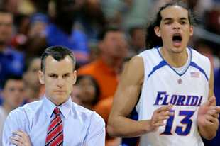 Former Bull Joakim Noah played for Billy Donovan at Florida (including here in 2007), and called his former coach this week. Donovan said Noah had good things to say about the Bulls' organization and the city of Chicago.