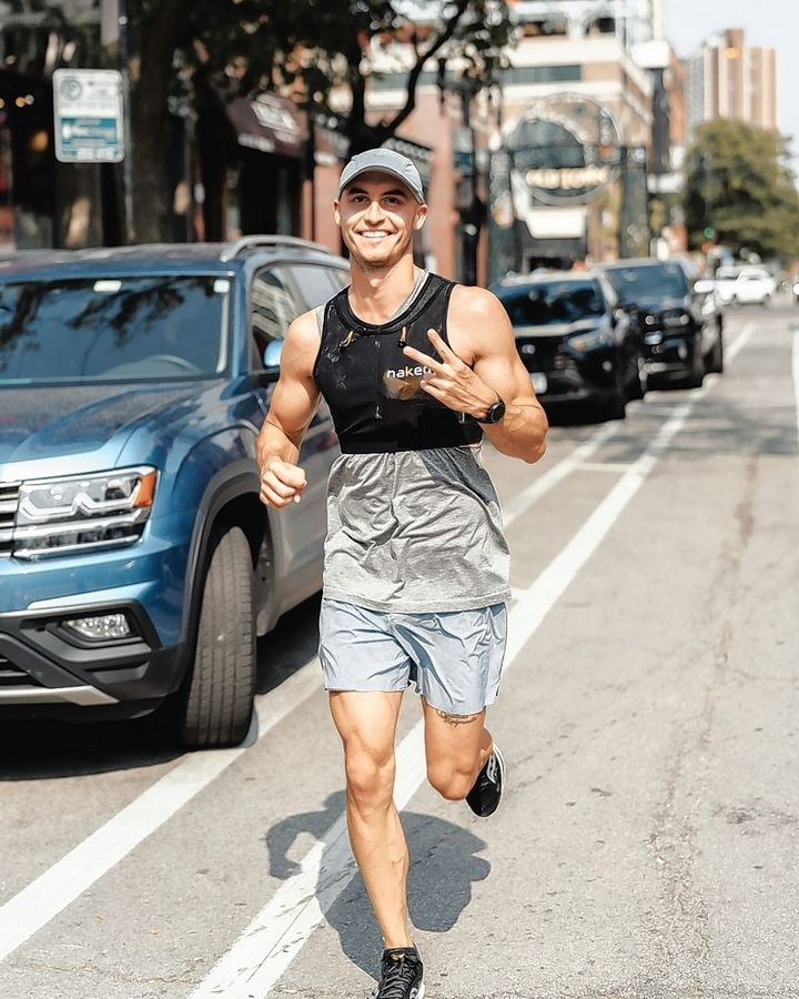 Lisle native Peter Krzywosz ran seven marathons in seven days last week to raise money in the fight against pediatric cancer.