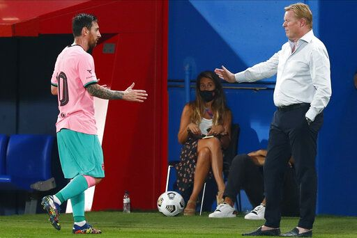 Not the bad guy': Koeman hits back on Suárez exit at Barca
