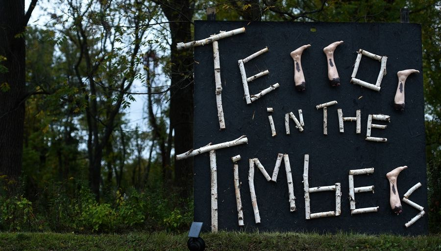 Terror in the Timbers is a drive-through haunted attraction opening Friday in Elgin.