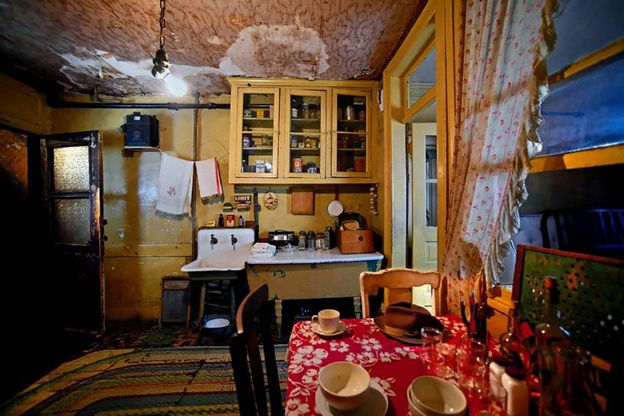 On October 27, Vernon Area Library will host a virtual tour of New York City's Tenement Museum, where recreated rooms highlight the struggles shared by U.S. immigrants between the 1860s and 1930s. The event is free and open to all.Tenement Museum