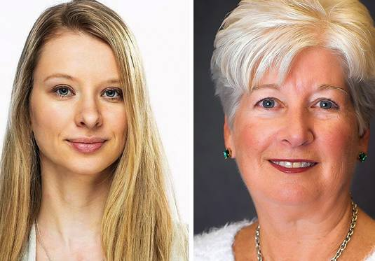 Emilia Czyszczon, left, and Mary Ellen Vanderventer are candidates for Lake County recorder on Nov. 3