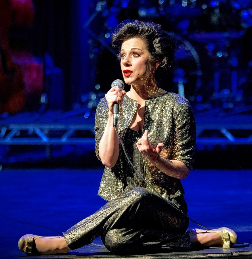 """Get Happy: Angela Ingersoll Sings Judy Garland"" will be streamed Sunday, Oct. 11, to benefit theaters across the U.S. including the Marriott Theatre in Lincolnshire."