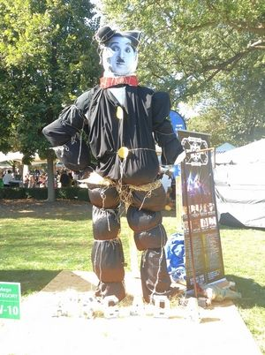 The St. Charles Scarecrow Stroll runs from Friday through Sunday, Oct. 9-11.