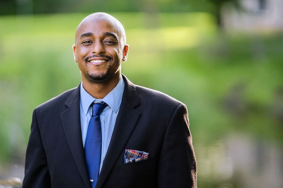 Ken Mejia-Beal, Democratic candidate for Illinois House District 42 in the Nov. 3 general election.