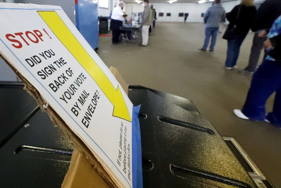 "Election authorities urge suburban voters to carefully follow a set of instructions for filling out their mail-in ballots, including signing and sealing the certification envelope and ensuring an ""affidavit of delivery"" is completed if someone other than the voter or the U.S. Postal Service submits the ballot."