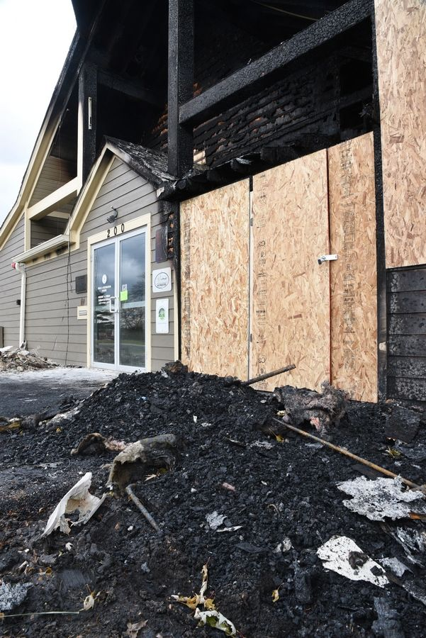 Lake Zurich voters will be asked whether they would like to increase the local sales tax from 0.5% to 1%. The additional revenue would help fund the rebuilding of Paulus Park Barn, which was gutted by fire last year.
