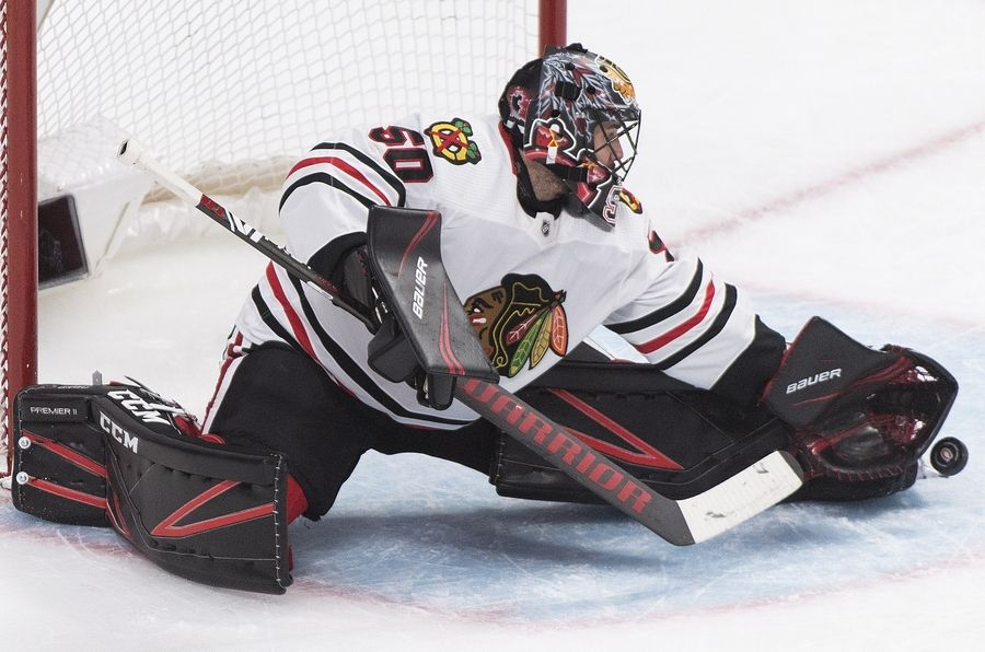 End Of An Era Corey Crawford S Time With Blackhawks Is Up