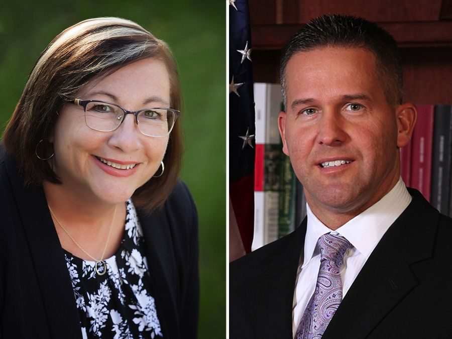 Paula Deacon Garcia and Sean Noonan are candidates for a District 2 seat of the DuPage County Board District in the Nov. 3 election.