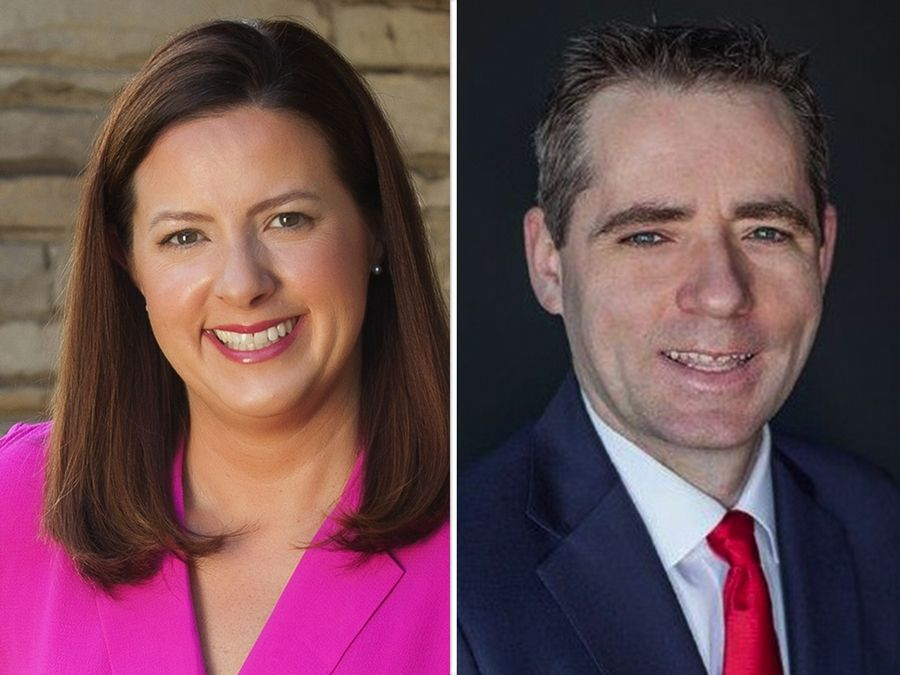 Amy Chavez and Kevin Coyne are candidates for a District 5 seat of the DuPage County Board in the Nov. 3 election.