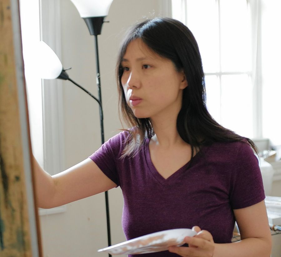 Artist Mary Qian will be featured in a virtual Third Thursday Art Night Out presentation by Oil Painters of America, through Barrington's White House.