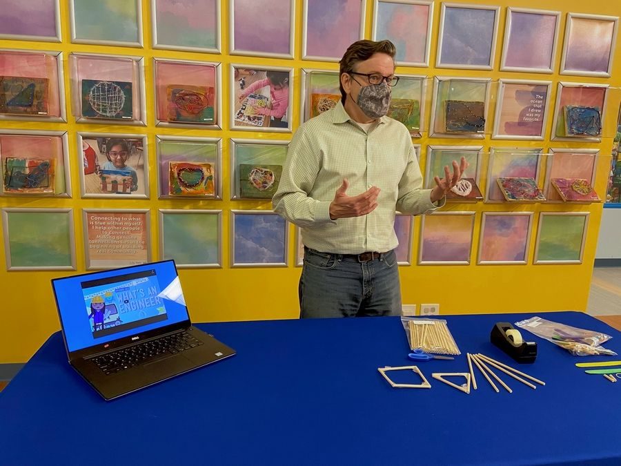 The new virtual STEM with DCM Labs at the DuPage Children's Museum in Naperville were born from discussions with school leaders, says Brett Nicholas, chief of play and learning.