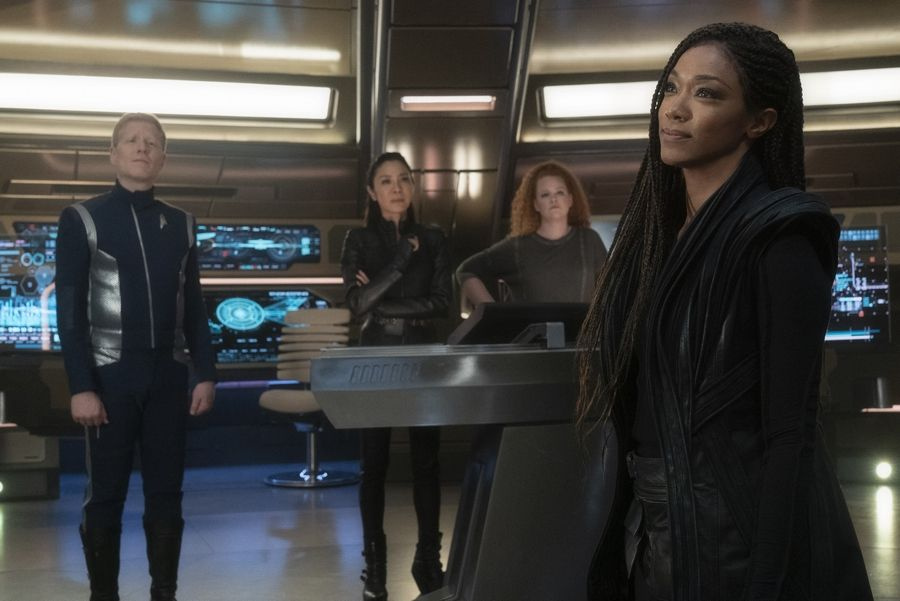 "In Season 3 of ""Star Trek: Discovery,"" First Officer Michael Burnham (Sonequa Martin-Green) returns to her crew a changed person after being separated."