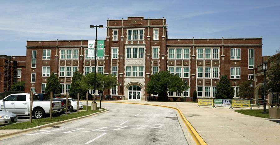 Students at York High School in Elmhurst will switch to remote learning for two weeks starting Wednesday as a result of rising COVID-19 test positivity rates in DuPage County.