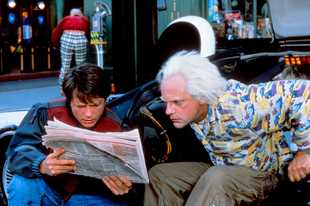 """Marty, can you believe it?! We're in 4K Ultra HD now!"" — not actual dialogue from ""Back to the Future Part II,"" starring Michael J. Fox and Christopher Lloyd."