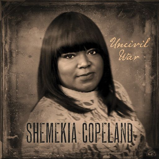 "This cover image released by Alligator Records shows ""Uncivil War,"" a release by Shemekia Copeland. (Alligator via AP)"