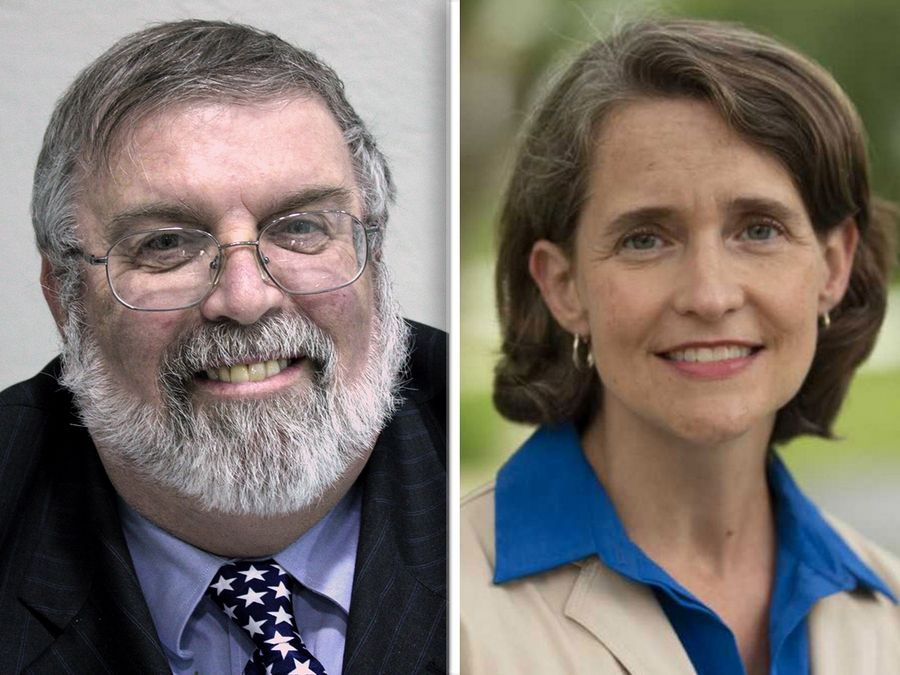 Scott Kegarise and Michelle Mussman are candidates in state House District 56