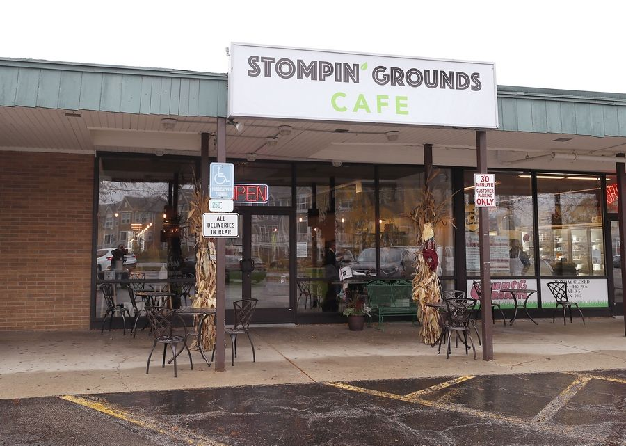 Stompin' Grounds Cafe opened Thursday in a former bakery space facing the water in downtown Lake Zurich.