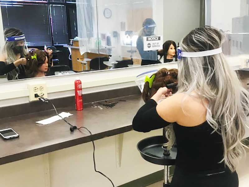 The College of DuPage in Glen Ellyn is one of only a few schools in the state to offer an Associate of Applied Science in Cosmetology.