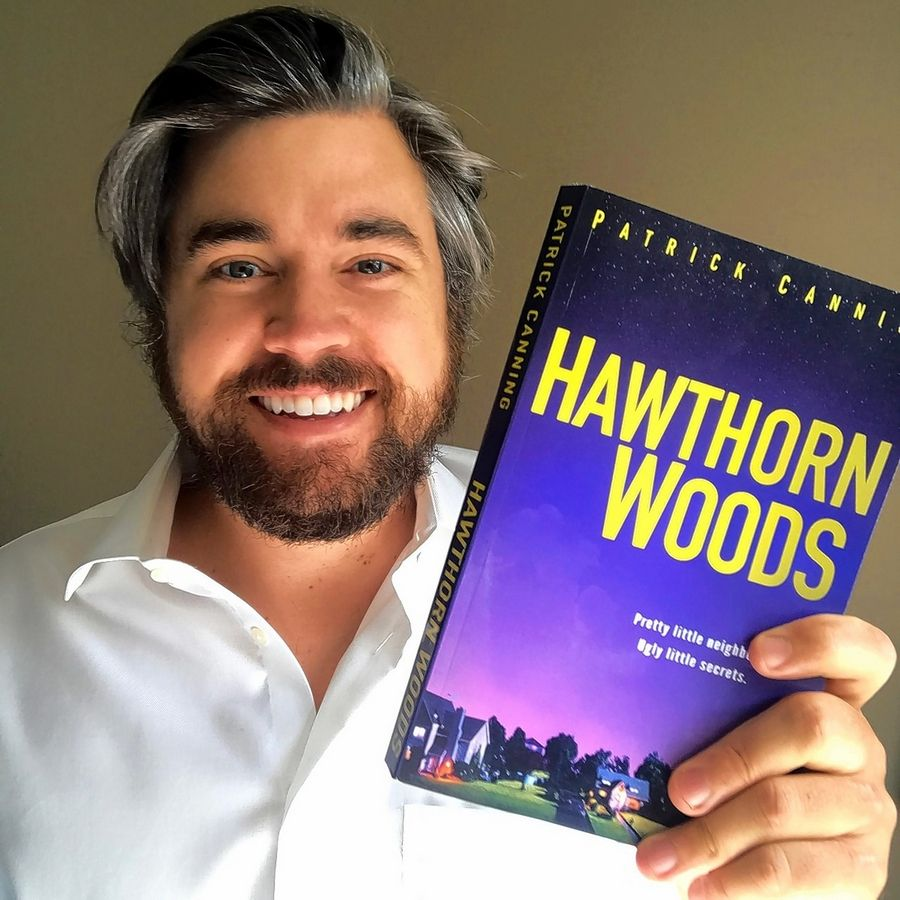 "While he has great memories of growing up in Hawthorn Woods, author Patrick Canning adds some dark secrets to that setting in his new thriller, ""Hawthorn Woods."""