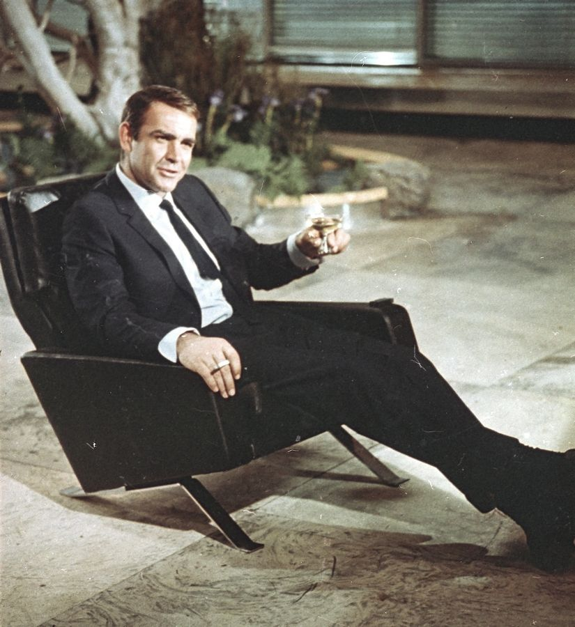 "FILE -- In this file photo dated July 29, 1966, actor Sean Connery is shown during filming the James Bond movie ""You Only Live Twice,"" on location in Tokyo, Japan. Scottish actor Sean Connery, considered by many to have been the best James Bond, has died aged 90, according to an announcement from his family."
