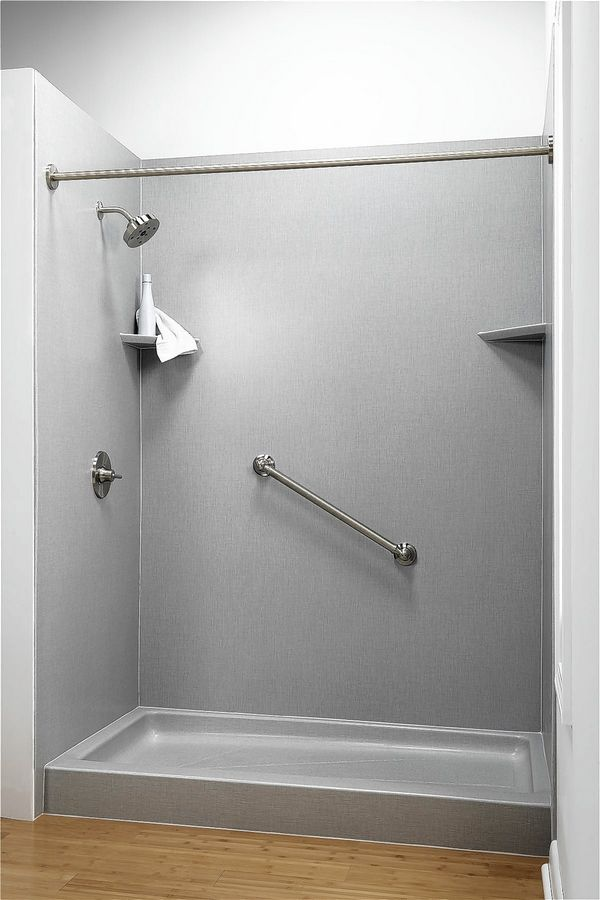 Grab bars also increase the safety for older homeowners who remodel their bathrooms.