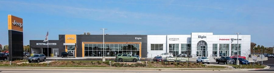 Des Plaines-based The Missner Group said it has completed construction of the new Elgin Chrysler Dodge Jeep Ram dealership at 1500 W. Lake St. in Elgin.