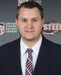 Chicago Steel General Manager Ryan Hardy.