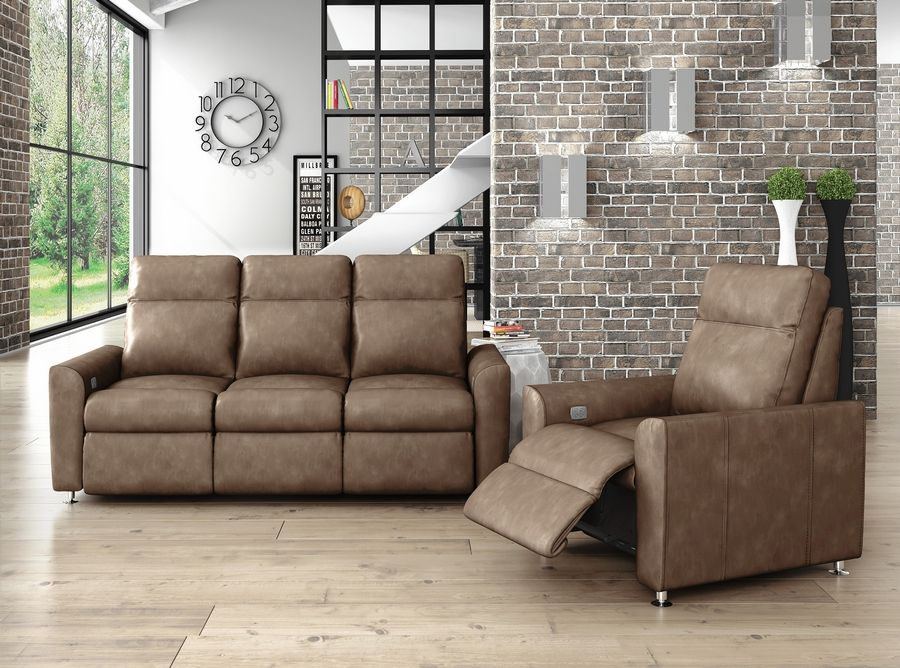 Customers can choose from hundreds of sectional, sofa, love seat and chair styles, and more than 1,200 fabrics and leathers.