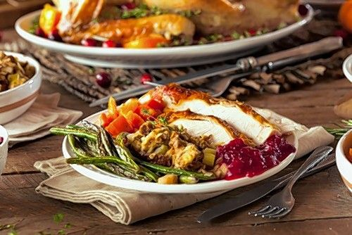 Allgauer's Thanksgiving To Go dinner features roasted turkey and all of the fixings.
