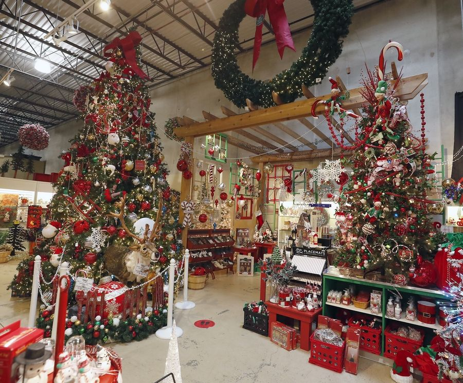 Santa's Magic Room is one of the many displays at Treetime.