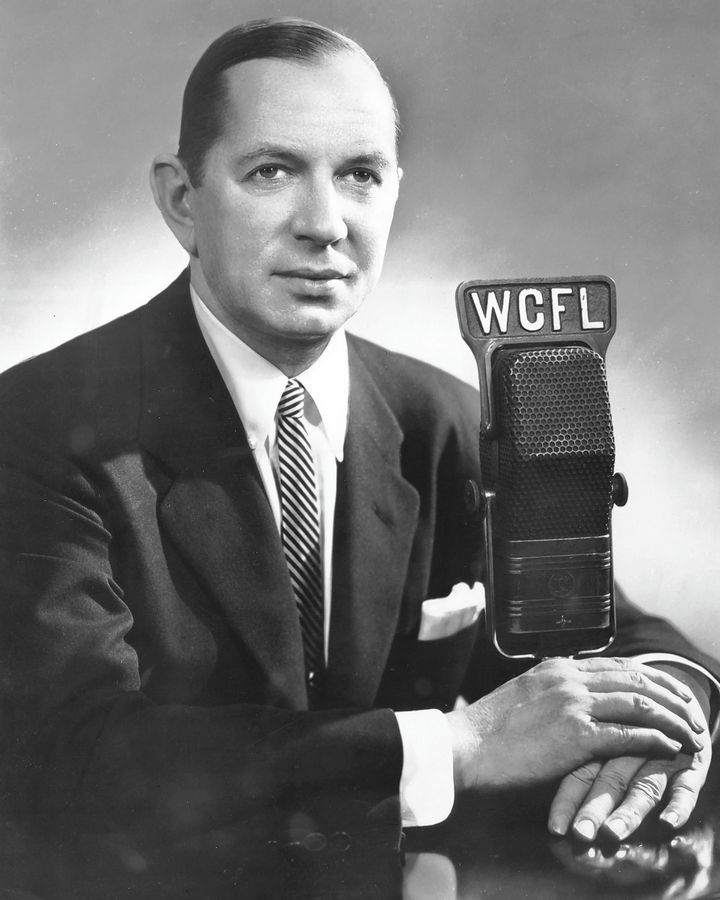 White Sox announcer Bob Elson in an undated photo.