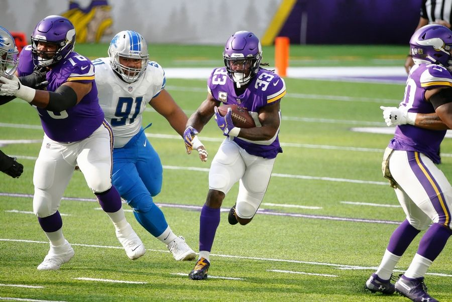 Minnesota Vikings RB Dalvin Cook wins first-ever Iron