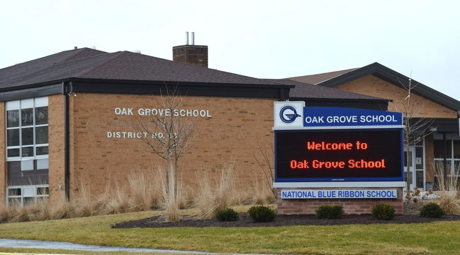 Oak Grove School in Green Oaks started the school year with in-school learning but will switch to all remote Dec. 1.