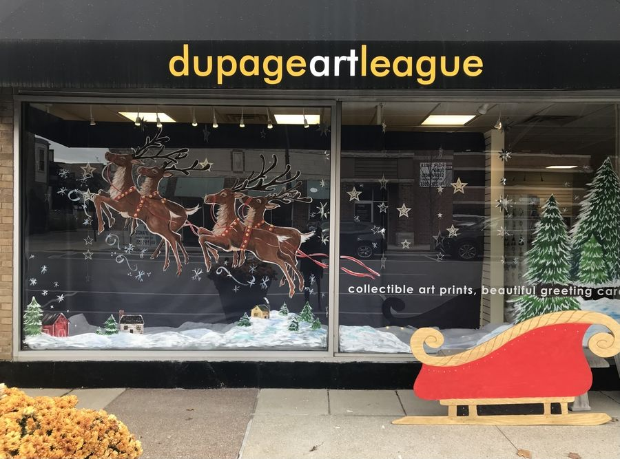 "Find some one-of-a-kind holiday gifts, created by local artists, during the DuPage Art League's ""Yuletide Treasures"" at 218 W. Front St. in Wheaton."