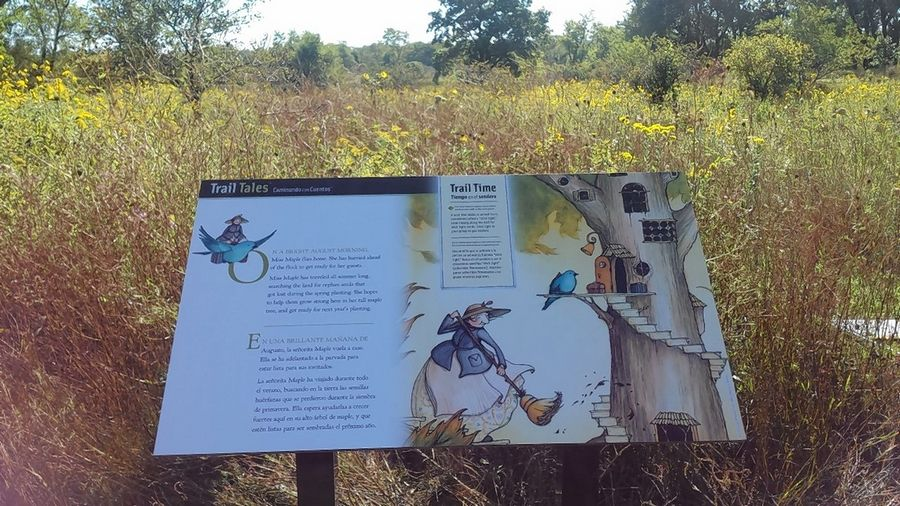 A series of interpretive panels, the main element in the Trail Tales program at three Lake County forest preserves, will be removed and the program ended.