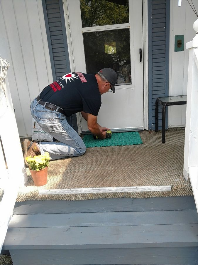 The Senior Care Volunteer Network offers a minor home repair program by assisting a community senior with a few quick repairs to keep the home looking its best and remaining safe and functional.