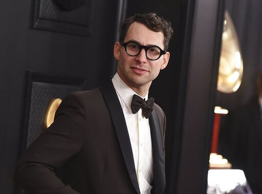 Jack Antonoff arrives at the 62nd annual Grammy Awards on Jan. 26, 2020, in Los Angeles. Antonoff, along with Dan Auerbach, Dave Cobb, Flying Lotus and Andrew Watt were nominated for a Grammy for non-classical best engineered album and non-classical producer of the year,  (Photo by Jordan Strauss/Invision/AP, File)