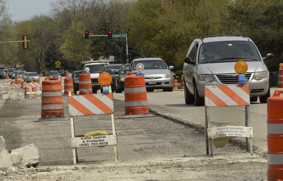 Following an earlier road resurfacing project along Arlington Heights Road in Elk Grove Village in 2013, the portion of the road south of Salt Creek is scheduled for upgrades next summer. The $5.5 million project will add left-turn lanes at about a half-dozen intersections.
