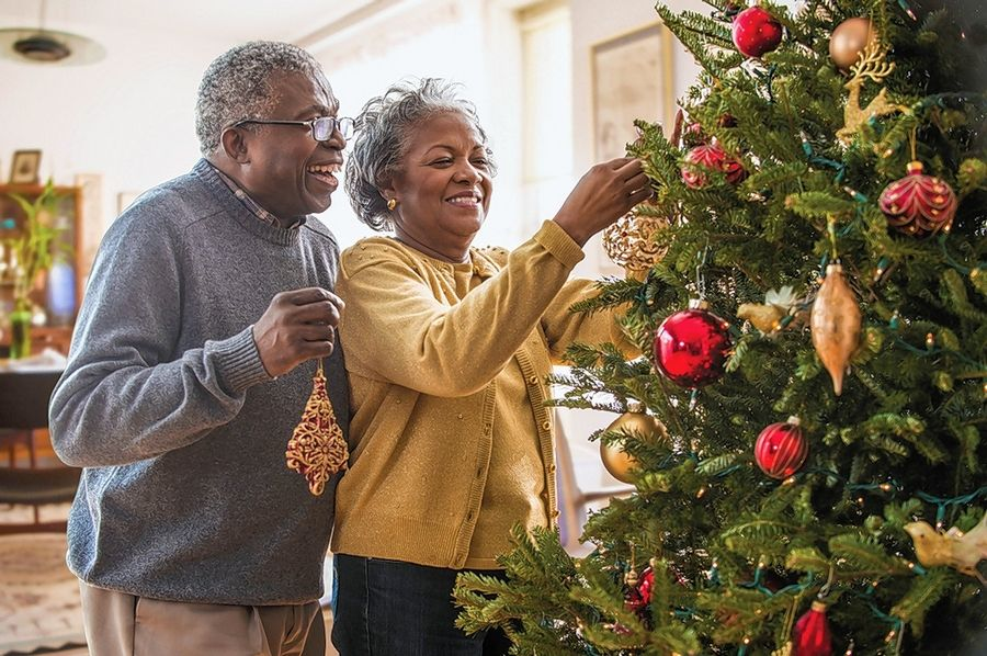 Holiday decorations, from poinsettias to Yule logs, borrow traditions from all over the world.