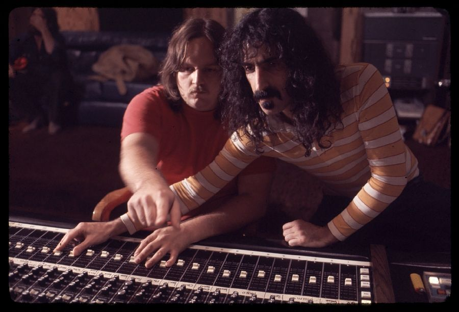"Kerry McNabb and Frank Zappa in ""Zappa,"" which remembers the titular rocker as an exacting, aloof and withholding leader."