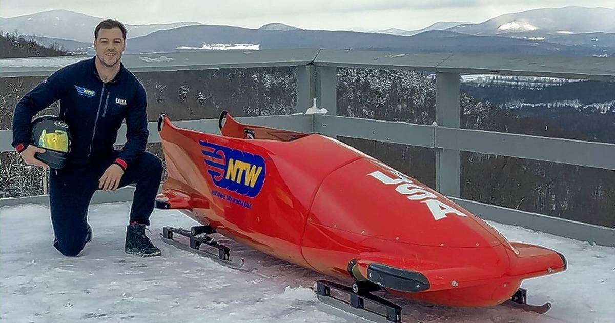 Making Olympic bobsled team a dream Geneva grad Hickey is chasing