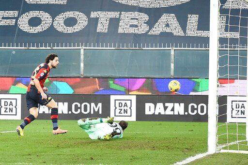 Kalulu Saves Milan S Unbeaten Record In 2 2 Draw At Genoa